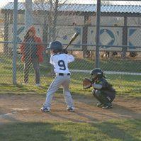 B's first at bat of 2014 Season