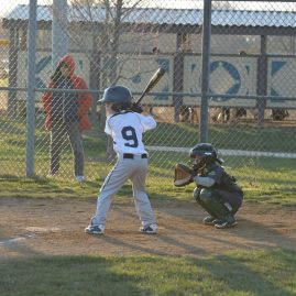 B's first at bat of 2014 Season